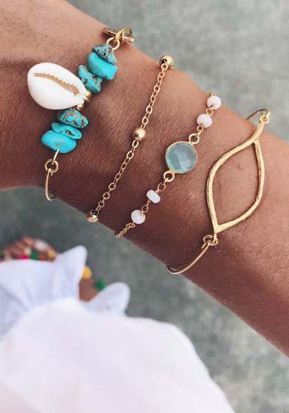 pulseras-turquesa-aguamarina-y-oro-neska-polita
