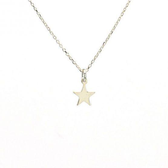 Collar Estrella Plata 925 Neska Polita