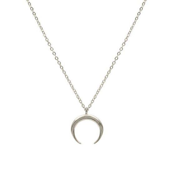 Collar-minimalista-moon-plata-choker-minimal-neska-polita