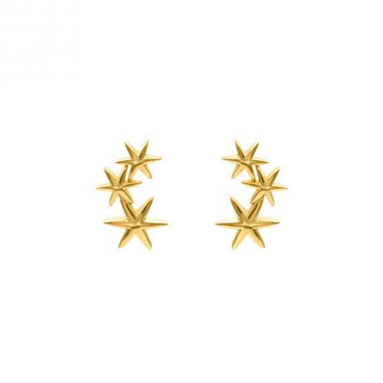 Pendientes-trepadores-galaxy-boho-estrellas-oro-neska-polita
