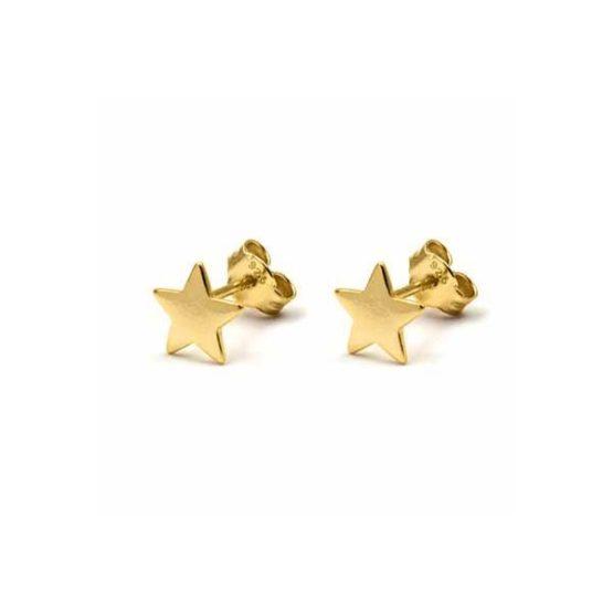 pendientes-minimal-star-mini oro-estrella-neska-polita