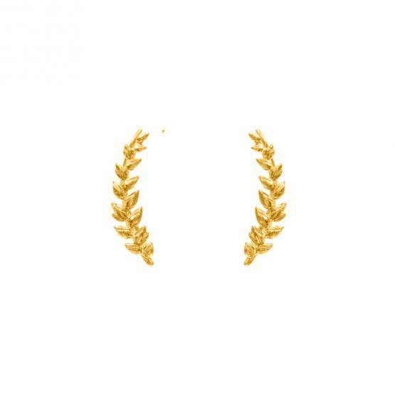 Pendientes-boho-trepadores-meda-espiga-oro-neska-polita2