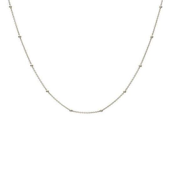 salma silver necklace