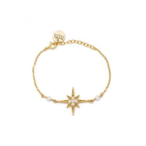 Pulsera-north-star-blanco-oro-cadena-neska-polita