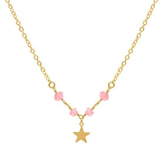Choker-estrella-star-minerals-rosa-oro-neska-polita