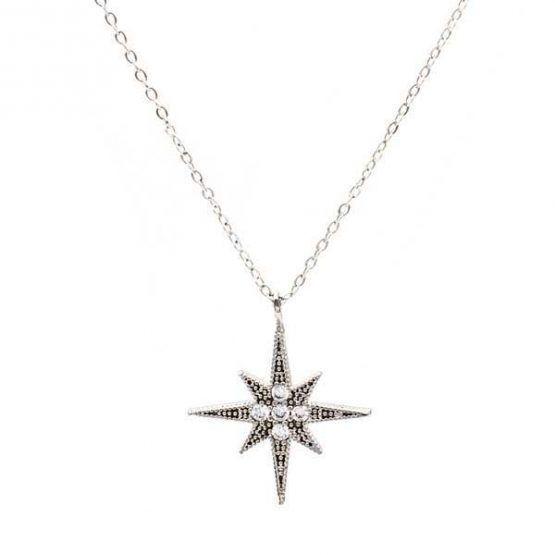 collar north star plata