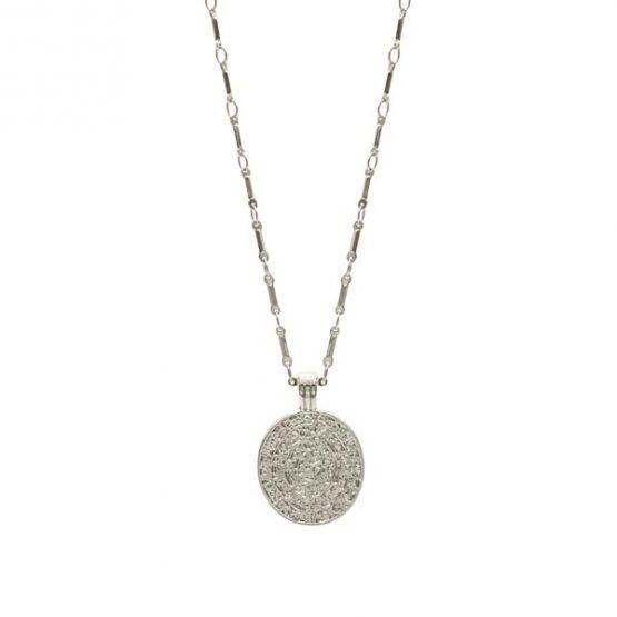 collar creta plata