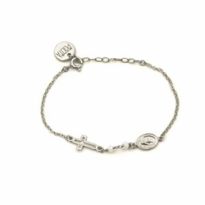 pulsera faith plata