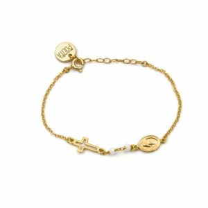 pulsera faith oro