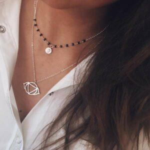collares plata
