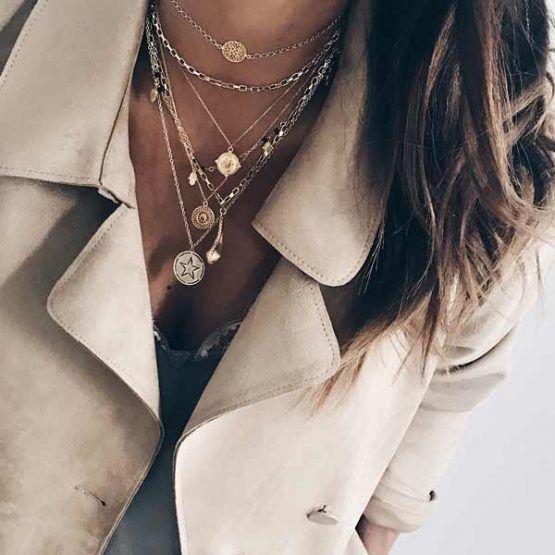 collares oro