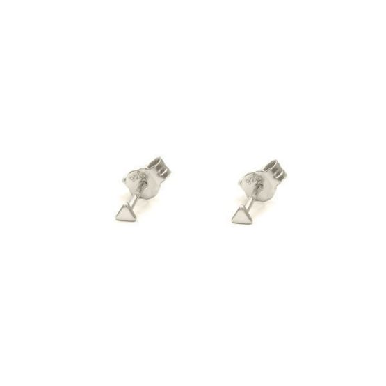 pendientes tiny triangle