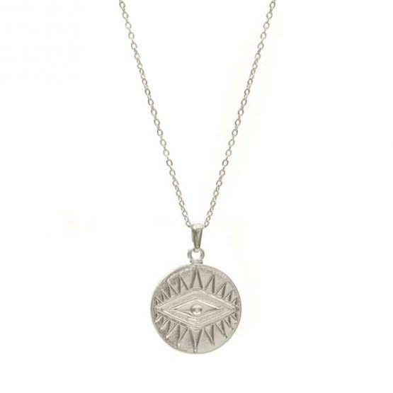collar mystic plata