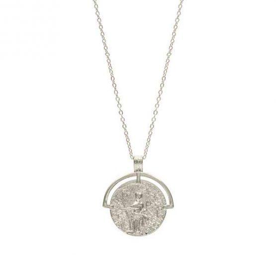 collar dorio plata