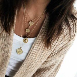 collares medallon