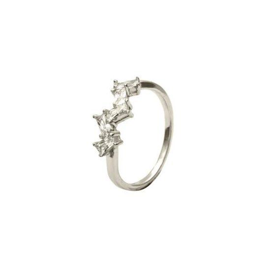 anillo ingrid plata