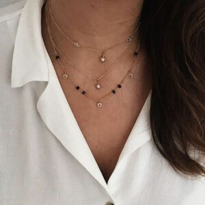 collares polaris y heart
