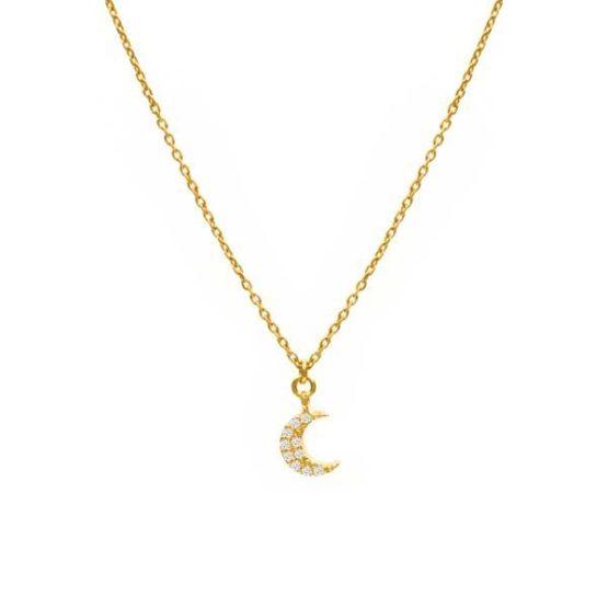 collar selene oro