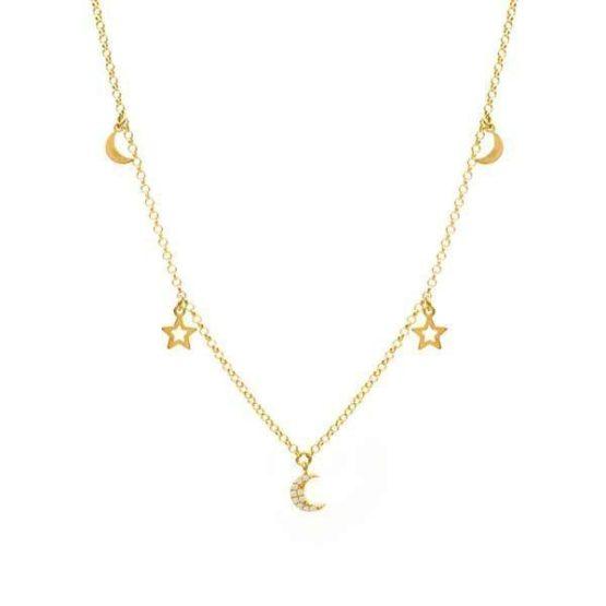 collar galassia oro