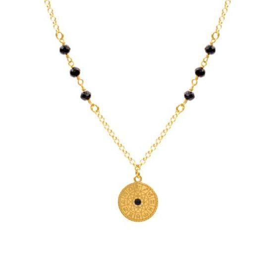 colar zodiac oro