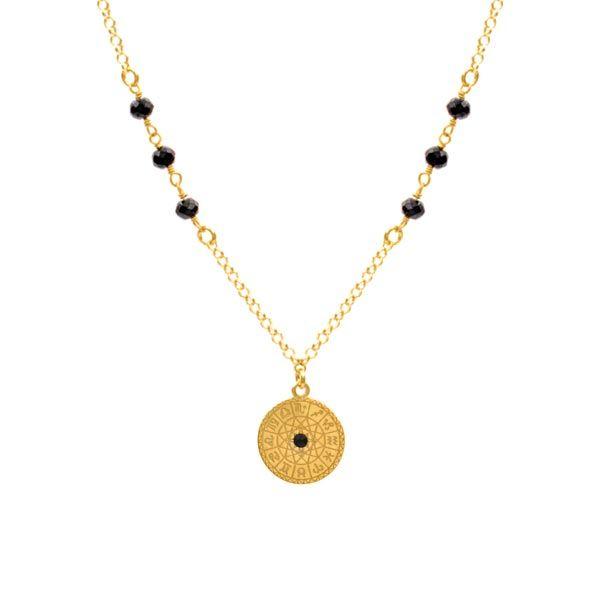 b9924e05d Zodiac Gold Necklace – Neska Polita