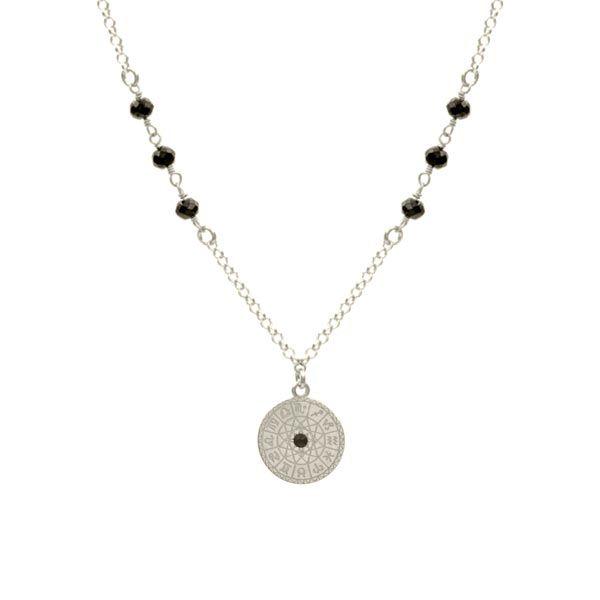 collar zodiac plata