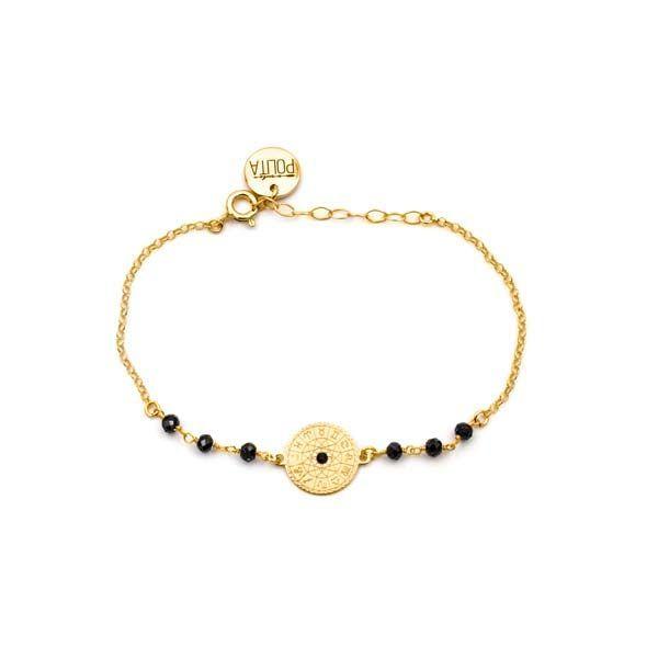 pulsera zodiac oro