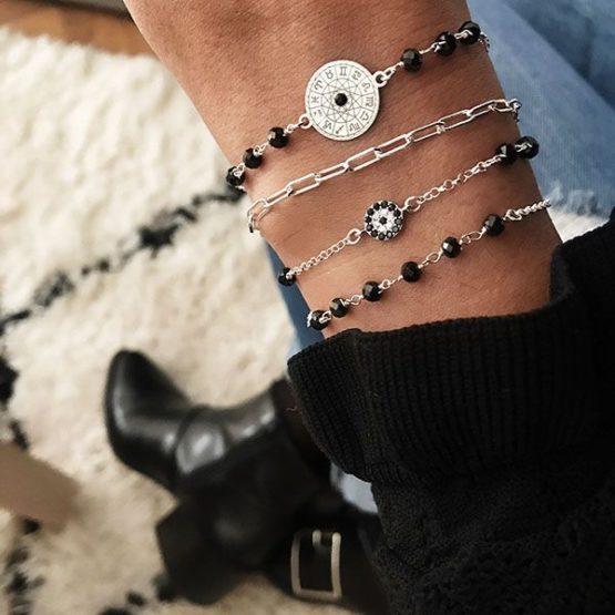 pulseras plata de ley