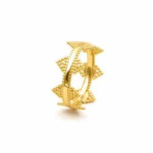 anillo delhi oro