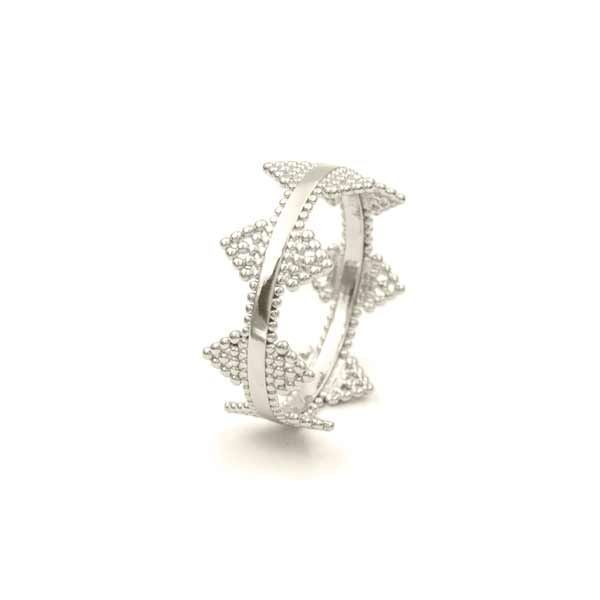 anillo delhi plata