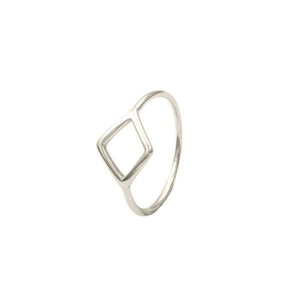 anillo brenda plata