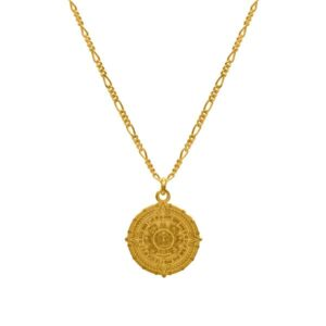 oaxaca gold necklace