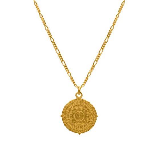 oaxaca gold necklace