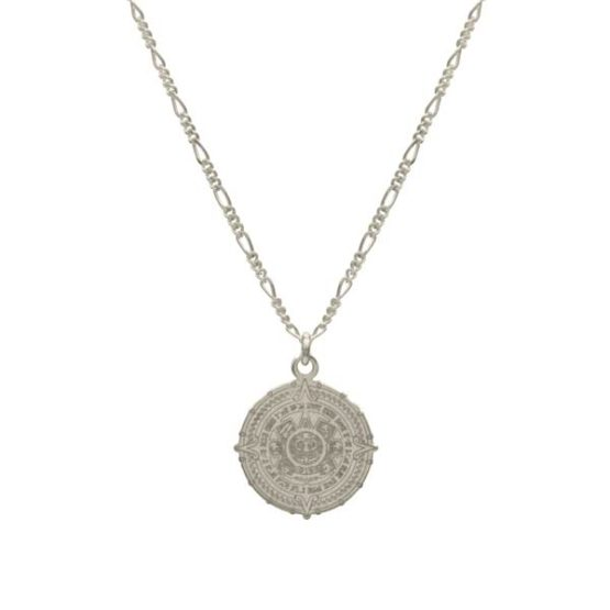 oaxaca silver necklace