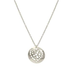 cuore silver necklace