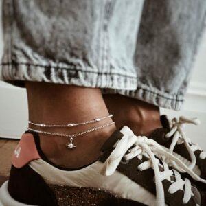 925 sterling silver anklet bracelets