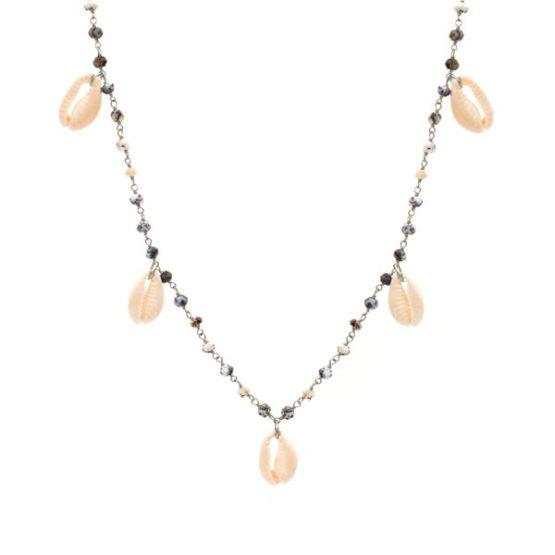 collar mykonos opalo plata
