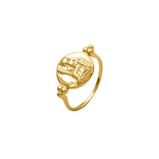 anillo syla oro