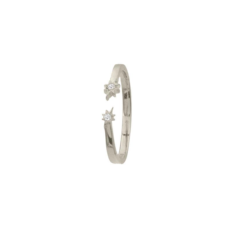 anillo maia plata