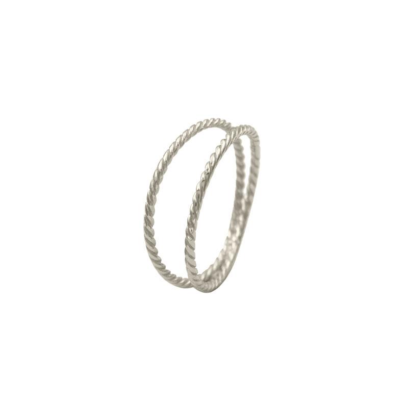 anillo thais plata