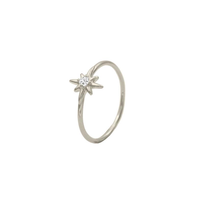 anillo polaris plata