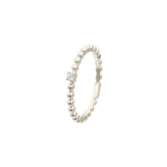anillo lina plata