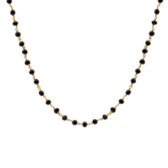 collar blessed negro oro