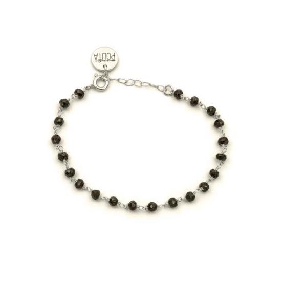 bimba black silver bracelet