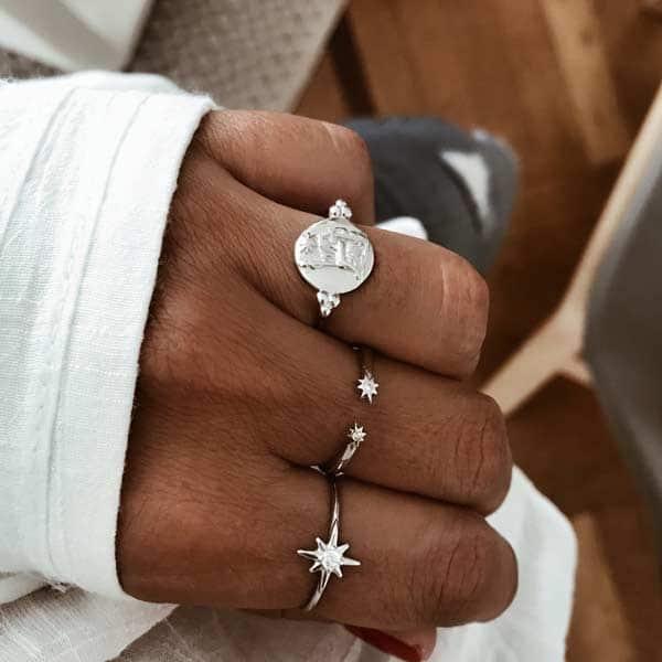 anillos plata de ley 925