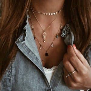 collares plata oro otono
