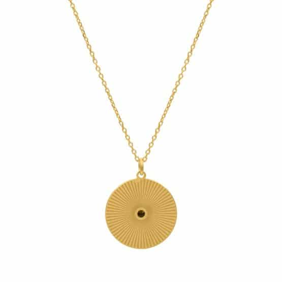 collar ariel oro