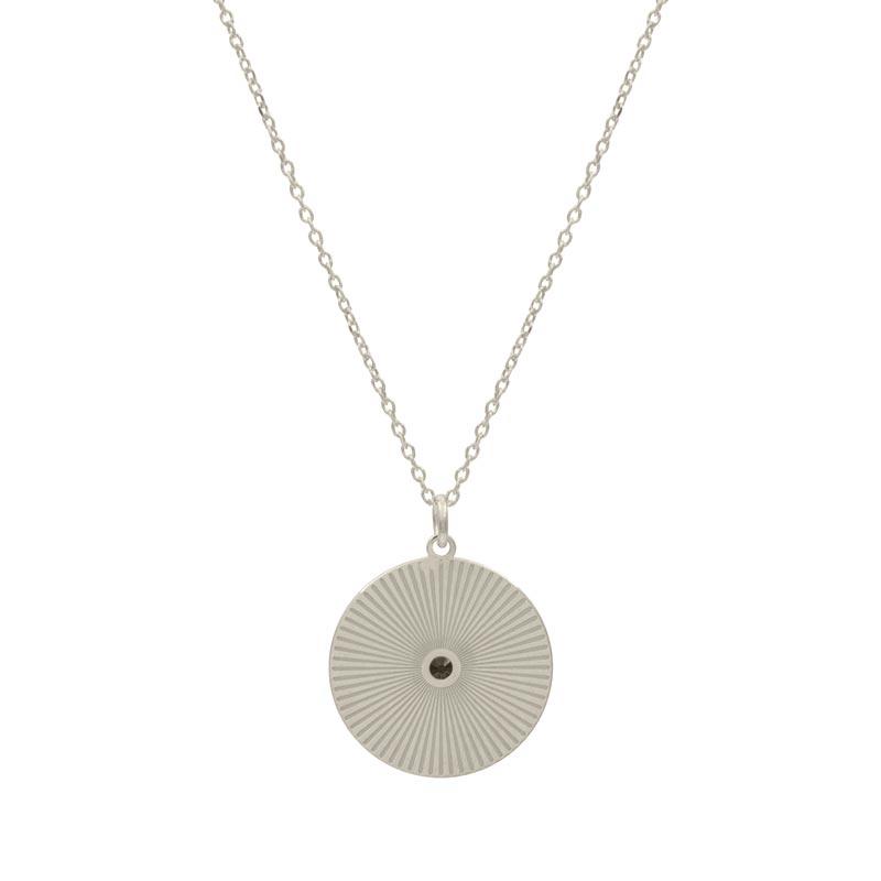 collar ariel plata