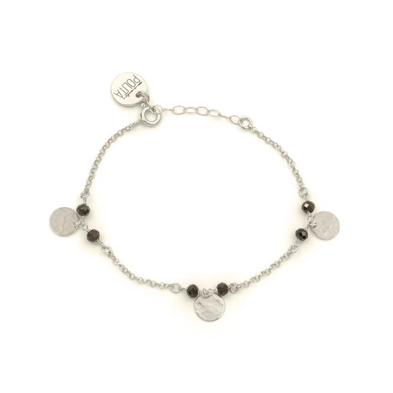 pulsera ciara plata
