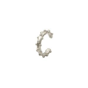 Pendiente earcuff yuri plata